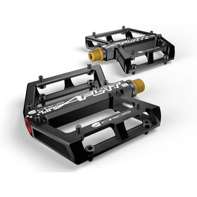 ACROS A-Flat SL Pedali titanio, black
